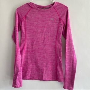 Women's Under Armour pink heather size large